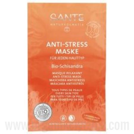 Organik Schisandra Özlü - 2' li Saşe Anti Stres Maske - 42340 - Sante