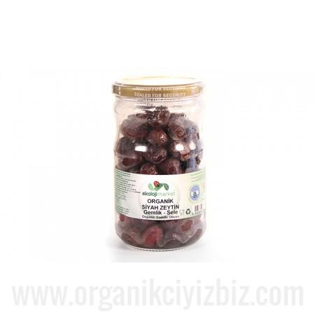 Organik Sele Siyah Zeytin 660cc - Ekoloji Market