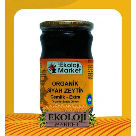 Organik Siyah Zeytin (Ekstra) 660cc - Ekoloji Market