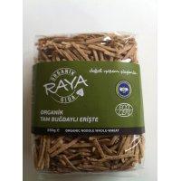 Organik Tam Buğdaylı Erişte - Raya