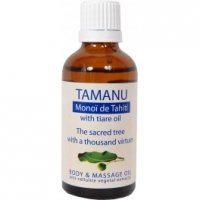 Organik Tamanu - Monoï de Tahiti - Vücut ve Masaj Yağı