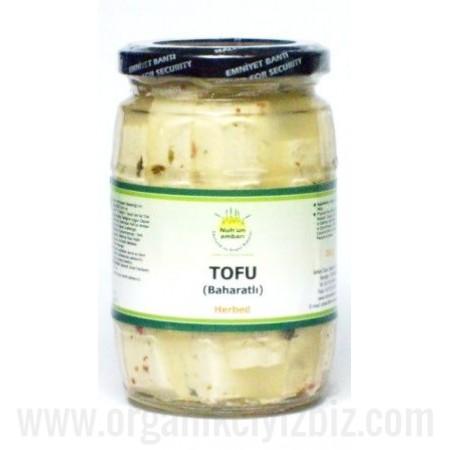 Organik Tofu (Baharatlı) 250gr - Orgagen Ambarı