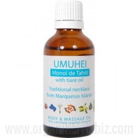 Organik Umuhei - Monoï de Tahiti - Vücut ve Masaj Yağı