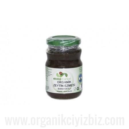 Organik Zeytin Ezmesi (Baharatlı) 190cc - Ekoloji Market