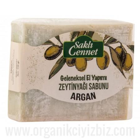 Organik Zeytinyağlı Argan Sabun - Saklı Cennet