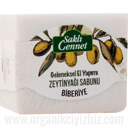 Organik Zeytinyağlı Biberiye Sabun - Saklı Cennet