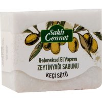 Organik Zeytinyağlı Keçisütü Sabun 150gr - Saklı Cennet