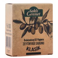 Organik Zeytinyağlı Klasik Sabun - Saklı Cennet