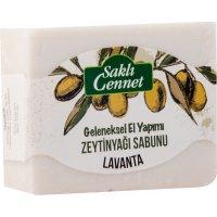 Organik Zeytinyağlı Lavanta Sabun - Saklı Cennet